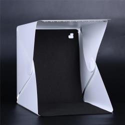 Fashion Photo Photography Studio Lighting Portable Soft LED Lig Black&White 26cm*24cm*2cm
