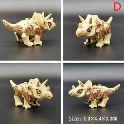 Jurassic Dinosaur Building Blocks Kids Children Toy Compatible w triceratops