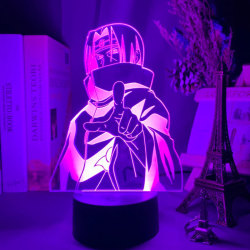 Led Night Light Sasuke Kakashi Kids Bedroom Nightlight Itachi 3 P4