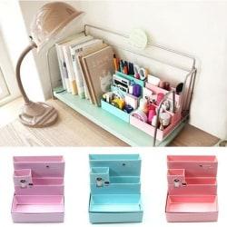 Paper Board Storage Box Desk Decor Brevpapper Makeup Kosmetisk O