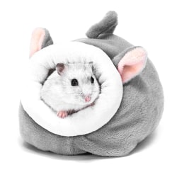 Pet Cage for Hamster Accessories Pet Bed Mouse Cotton House Sma Gray