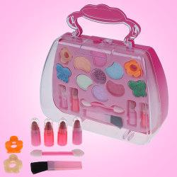 Princess Toys Girl Makeup Tools Set resväska kosmetisk låtsas P