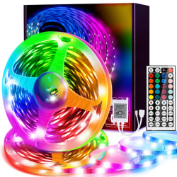 RGB  3528 10M LED Strip Light With  Adapter Plug 10meter(5meter*2)