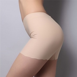 Summer Lady Seamless Safety Shorts Leggings Pants Free Size Nude Free Size