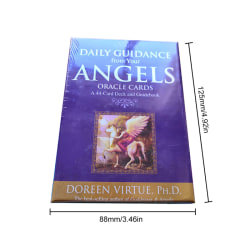 Tarot Cards Daily Guidance Angel Oracle Card Deck Table Game Pl