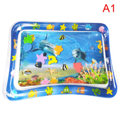 Water Playmat Uppblåsbar Play Mat Tummy Time Spädbarn Baby Toddl