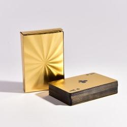 Vattentät plastkortsamling Gold Diamond Poker