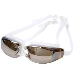 Vattentät professionell anti-dimglasögon UV-skydd simning Light gray