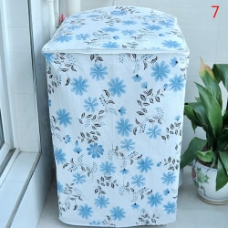 Waterproof Washing Machine Zippered Top Dust Cover Protection T 7