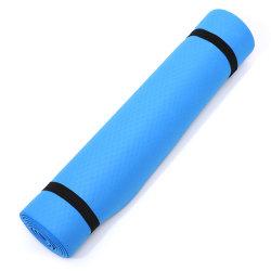 Yoga Mat Non Slip Carpet Mat For Beginner Environmental Fitness Dark blue