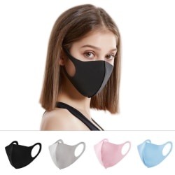 2-Pack Tvättbar Ansiktsmask svart
