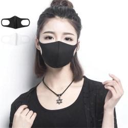 Tvättbar Fashion Mask - Svart svart