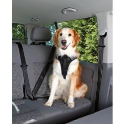 Bilsele Dog Protect, XL: 80-100 cm/25 mm, svart Säkerhetssele Black one size