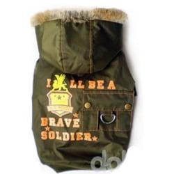 Hundjacka Soldier Green XL