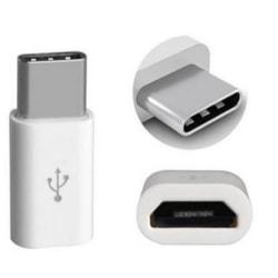 Adapter USB C till Micro-USB, vit vit