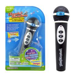 1 Pcs Microphone Toy Mic Karaoke Singing Musical Toy New Style F