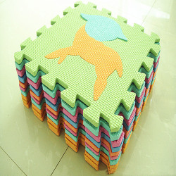 10xChild Soft Numbers Mats Foam Puzzle Play Floor Mat Children's animal