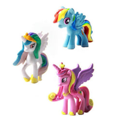 12 Pcs/Set Figurines Playset for My Little Pony Toys Kids Gilrls