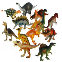 15-18cm Dinosaur Plastic Jurassic Play Model Action & Figures T-