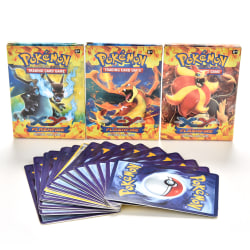 17 Pcs/Box Kids Card Games Assorted Trading Cards for POKEMON XY
