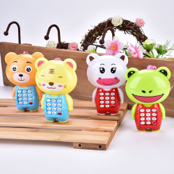 1Pc cartoon music phone baby toys educational learning toy phone one size