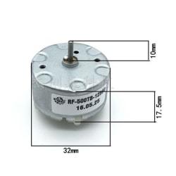 1pc Mabuchi RF500TB-12560 Motor DC 1.5V 6V 12V 4600RPM 32mm DC  0 0