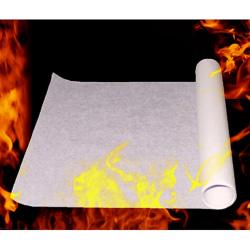 1pcs 50X20cm Fire Paper Flash Flame Paper Magic Props Toys One Size