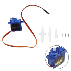 1Set SG90 Micro Metal Gear 9g Servo For RC Plane Helicopter Boat 360°
