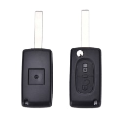 2 BUTTON KEY FOB CASE SHELL FOR PEUGEOT 307 308 107 207 407 WITH