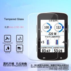 2 X Premium Tempered Glass Screen Protector for Garmin Edge Pro 530