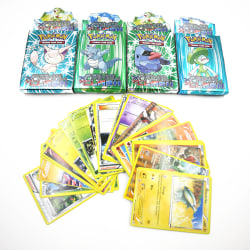 25pcs Kids Card Games Assorted Trading Cards for POKEMON XY Card