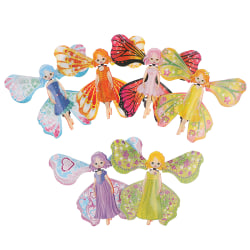 2pcs Kids Magic Butterfly Flying Paper Card Toy Magic Fairy Mag One Size