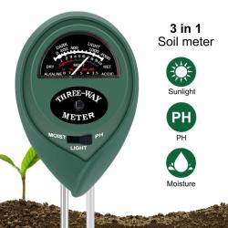 3 in 1 soil water moisture light ph meter tester analyzer for p 2()