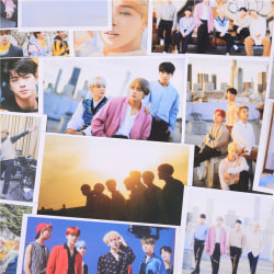 30pcs KPOP BTS Bangtan Boys Photo Cards Poster Fans Collection  One Size