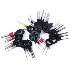 36Pcs Car Terminal Removal Tool Wire Connector Extractor Puller  One Size