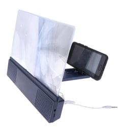 3D Mobile Phone Screen Magnifier Bluetooth Stereo Speaker HD Vi
