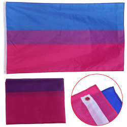 3x5 Ft Double Stitched Bisexual Flag Pride Banner Gay Lesbian LG one size