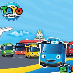 4 Pieces / Set of Bus Toys Children's Gifts Minibus Toys Educati Mini