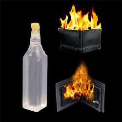 5ml Magic Trick Flame Fire Wallet Oil Magician Stage Perform St One Size