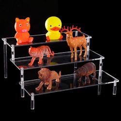 Acrylic Detachable Ladder Frame Perfume Jewelry Display Rack mod A3