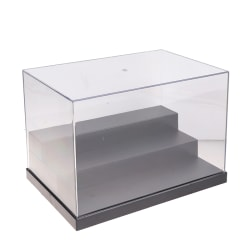 Acrylic Display Case Clear Perspex Box Dustproof For Action Figu A3