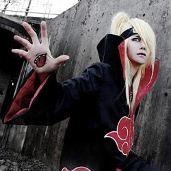 Animer Cosplay Costume Akatsuki itachi Cloak Superior Quality An S (B)