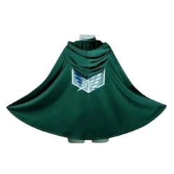 Attack on Titan Japanese Anime Shingeki no Kyojin Cloak Cape Clo Green one size