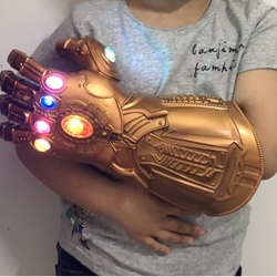 Avengers Thanos Infinity Gauntlet LED Gloves Light Up Cosplay F S-Kids