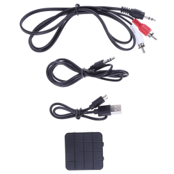 Bluetooth5.0 2in1 wireless audio transmitter receiver hifi musi Onesize