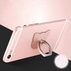 Cat Ring Stand Holder 360 Degree Finger Ring Mobile Phone Smart silver
