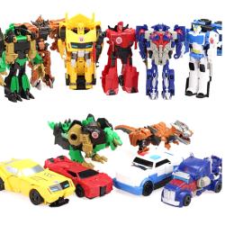 Children Transformation Car Deformation Robots Kids Building Blo Navy