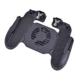 Cooling Fan Gamepad PUBG Mobile Phone Game Controller Joystick  Black