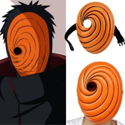 COSPLAY Mask Props Uchiha Obito Orange Resin Party Halloween Tob