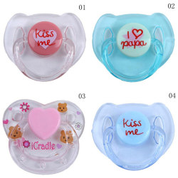 Cute Dummy Magnetic Pacifier For Reborn Baby Doll Internal Magne 0 03